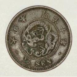 Japonia 1/2 sen 1883