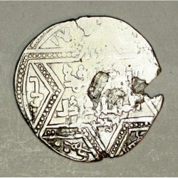 Ajjubidzi w Aleppo dirham  Al-Zahir Ghazi (1186-1216 AD)