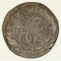5 kopiejek 1767 EM