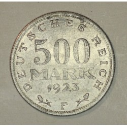 500 mark 1923 F Republika Weimarska