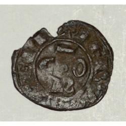 Sycylia, Konrad II (1254-1258 AD) denar