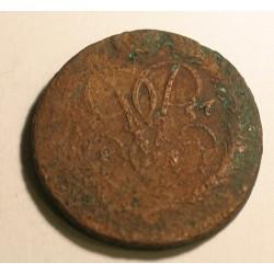 2 kopiejki 1757