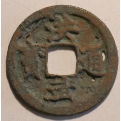 1 cash Hong Wu Tong Bao, dynastia Ming