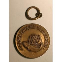 """Medal PZW """"Wędkarskie Mistrzostwa Koła"""" brązowy"""