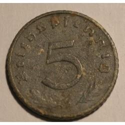 5 reichspfennig 1942 A