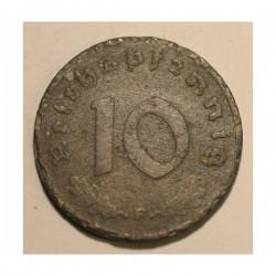 10 pfennig 1941 F