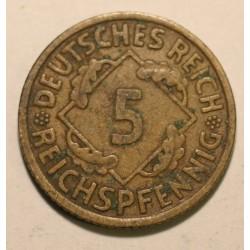 5 reichspfennig 1930 A