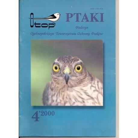 Ptaki biuletyn OTOP 4/2000