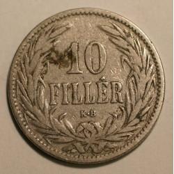 Węgry 10 fillerów 1894