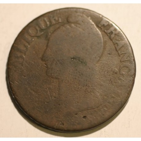 Francja 5 centimes L'an 6 I (1797)