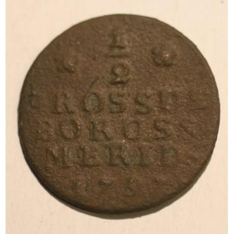 Półgrosz dla Prus Południowych 1797