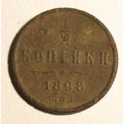 1/2 kopiejki 1898 SPB