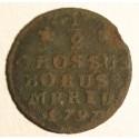1/2 grosza dla Prus Południowych 1797