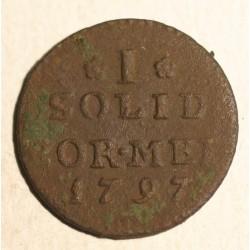 Szeląg dla Prus Południowych 1797