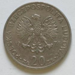 20 złotych 1976 Nowotko