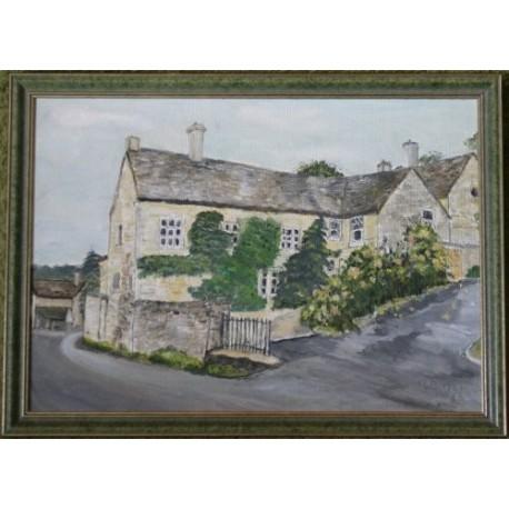 Dom przy Wells Hill - obraz olejny