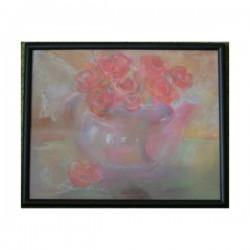 Martwa natura (róże) - pastel