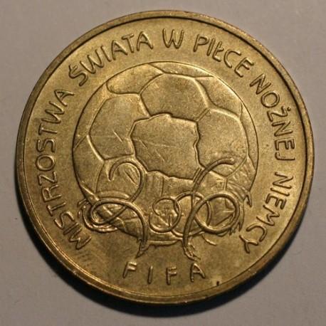2 złote 2006 FIFA Niemcy