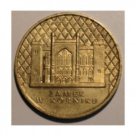 2 złote 11998 Zamek w Kórniku