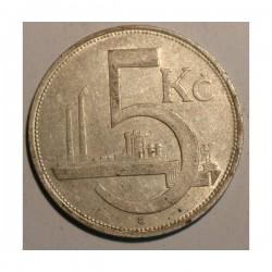 Czechosłowacja 5 koron 1930
