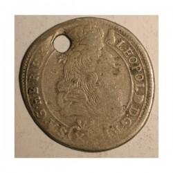 15 krajcarów 1687 K.B.