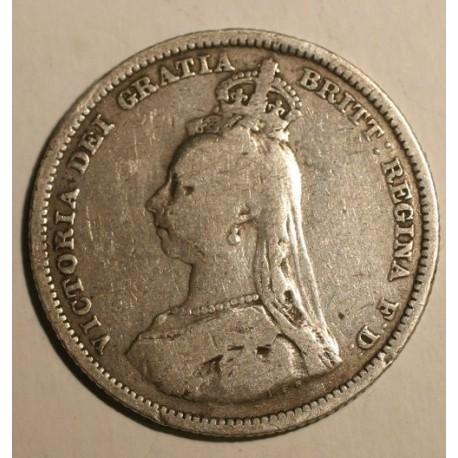 Wielka Brytania 1 szyling 1887