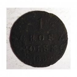1 grosz polski 1832