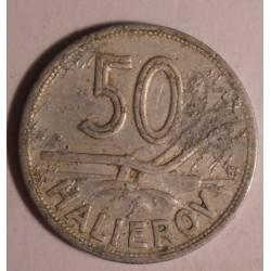 Słowacja 50 halerzy 1943
