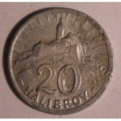 Słowacja 20 halerzy 1942