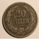 Węgry 20 fillerów 1892 KB
