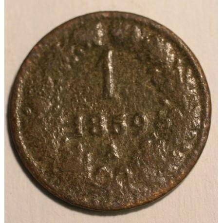 1 krajcar 1859 A