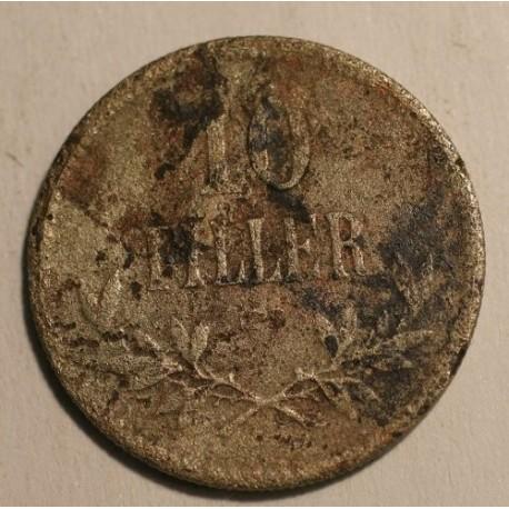 Węgry 10 fillerów 1915