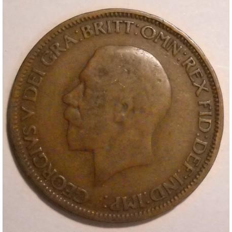 Wielka Brytania 1/2 pensa 1927